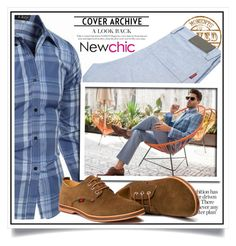 Newchic - Spring Men XI/5 by ewa-naukowicz-wojcik on Polyvore featuring polyvore men's fashion menswear clothing