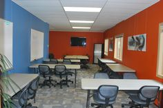 Our Large Conference Area! Customize to meet your needs.