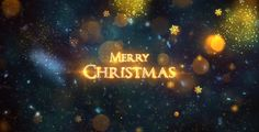 Christmas video greeting card
