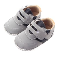 Leather Baby First Walkers Antislip First Walkers For Baby Boy Girl Genius Nubuck Leather Baby Infant Toddler Shoes 0-1 years #Affiliate