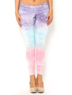 #Galaxy #Ombre Leggings #StylesForLess
