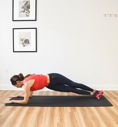 4-Minute Tabata Plank Challenge (Day 2): Forearm Plank Exercises