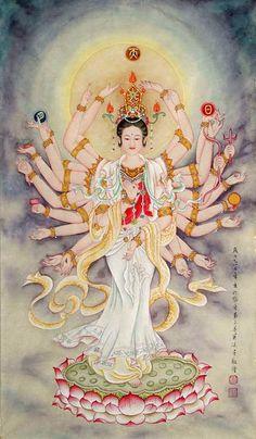Kuan Yin,65cm x 105cm(26〃 x 41〃),3761004-z