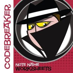 Add secret agent fun to note naming with 'CodeBreaker! Note Name Worksheets' from MakingMusicFun.net. Print this worksheet for FREE! Music Lessons For Kids, Music Lesson Plans, Music For Kids, Music Theory Games, Music Theory Worksheets, Music Flashcards, Sticker Chart, Violin Lessons, Elementary Music