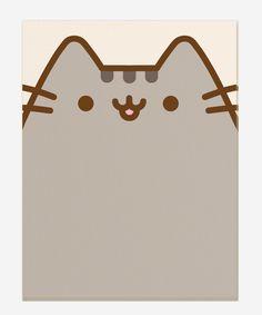 Pusheen the Cat notepad - Hey Chickadee