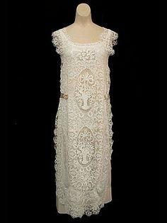 Edwardian summer dress.