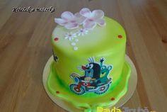 mini dort krteček a motorka