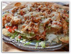 Buffalo Chicken Nachos - Will Cook For Smiles       I will make a healthier version