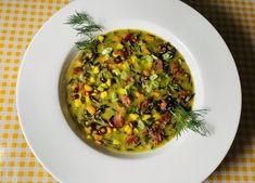"""Great combo! This Wild Rice and Bacon Split Pea Soup was entered in our 2021 """"Get Wild w/ Wild Rice"""" recipe contest by Emily Falke! Enter your creation by July 5 (visit website below) for cash and other prizes. #wildricecontest #wildrice #wildricesoup Wild Rice Recipes, Soup Recipes, Minnesota Wild Rice, Cooking Contest, Wild Rice Soup, Pea Soup, Visit Website, Chana Masala, Soups"""