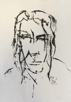 Radka / oil,paper