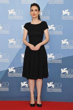 La alfombra roja del Festival Internacional de Cine de Venecia: Winona Ryder