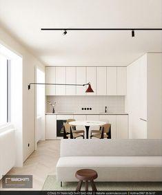 Mẫu thiết kế phòng khách liền bếp chung cư đã khá quen thuộc trong không gian sống cửa hầu hết các hộ gia đình. Tuy nhiên nó vẫn chưa bao giờ hết hot. Năm 2020 tới đây mẫu đèn tường với phần tay dài hứa hẹn sẽ trở thành hot trend. #saokimdecor #kitchen #kitchens #diningroom  #diningrooms#phòngbếp #キッチン#Cozinha #cocina #Küche #cuisine#interior #interiordesign #interiors #apartment #apartments #chungcư #インテリア#interieur #innenraum