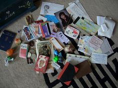 All the things I keep in my secret box. I've had it since I was about 8, so a lot of things are quite old!     Awesome Pic! Check out this amazing video:  http://www.empowernetwork.com/commissionloophole.php?id=michaelrochau