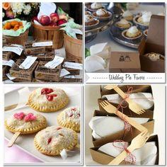 pie favors #weddings