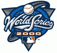 MLB World Series Primary Logo (2000) - 2000 World Series - New York Yankees 4, New York Mets 1