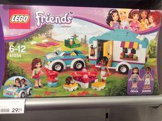 Zolang ik nog geen echte heb, kan ik me misschien vermaken met zo'n lego caravannetje.