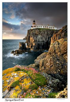 Spring at Neist Point - , Western Isles, Scotland
