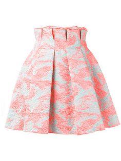 фактурная плиссированная юбка