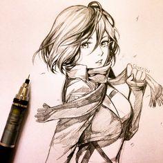 AOT- Mikasa Ackerman