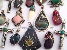 Assorted Handmade Peruvian Pendantshttp://www.wholesaleperuvianjewelry.com