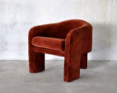 1970s Mid-Century Modern Retro Lounge Chair Attributed to Vladimir Kagan for Weiman Preview Vintage Tripod Club Chair