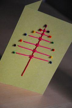 Φανταστικες Ιδεες για χειροποιητες Χριστουγεννιατικες καρτες - Daddy-Cool.gr
