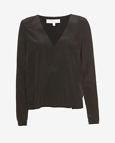 Derek Lam 10 Crosby EXCLUSIVE Lace Back V-Neck Blouse #INTERMIX #Sweepstakes