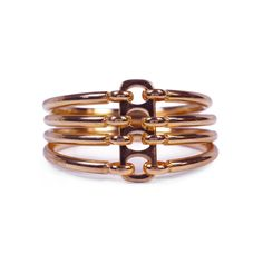 stacking bangles in rose gold. To die for.