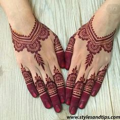 Unique And Easy Mehndi Design Latest Images For – Henna Bloq Finger Henna Designs, Henna Art Designs, Mehndi Designs For Girls, Mehndi Designs For Fingers, Unique Mehndi Designs, Beautiful Henna Designs, Latest Mehndi Designs, Back Hand Mehndi Designs, Anklet Designs