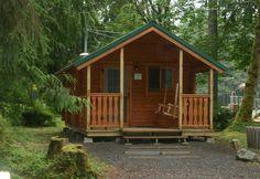 Conestoga Aspen log cabin