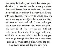 Breakup quotes for girls (: