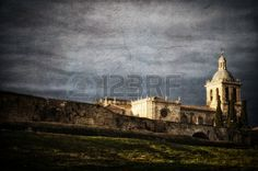 Picture of Historic Spanish town Ciudad Rodrigo, vintage style stock photo, images and stock photography. Vintage Style, Vintage Fashion, Spanish Towns, Stock Photos, Pictures, Photography, Painting, Inspiration, Image