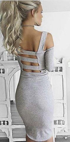 #summer #australian #label #outfits   Grey Hostage Dress