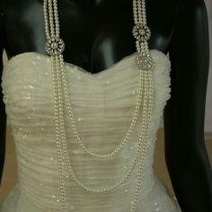 "David Tutera ""Savannah"" necklace #sale #bride #gift #jewelry  reg  $109 sale $87.00 http://www.victoriarosebridals.com/?product=david-tutera-zoe-pendant"
