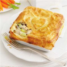 Chicken, Leek & Mushroom Pies Recipe | Woolworths