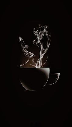 coffee and cigarettes Coffee Cafe, Coffee Drinks, Coffee Shop, Coffee Photography, Art Photography, Black Phone Wallpaper, Black Art Pictures, Good Morning Coffee, Coffee Pictures