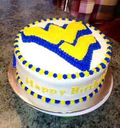 WVU Cake