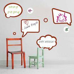 Dry Erase Phrase Decals