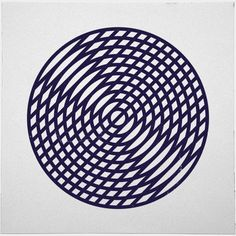 #190 Vinyl – A new minimal geometric composition each day.  Geometry daily