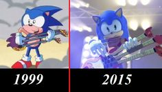 Obviously a reference to Sonic Underground. Excuse me while I scream to high heaven.