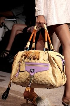 Louis Vuitton!! just love the colors