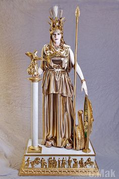 Athena. Best in Show Historical Costume Con 32.