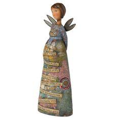 Kelly Rae Roberts New MoTher Angel Figurine Kelly Rae Rob...