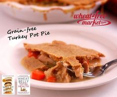 Turkey Pot Pie  I want to try this. I need to master wheat free baking.  MHJ