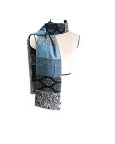2014 S/S COLLECTION  vintage kimono patchwork scarf
