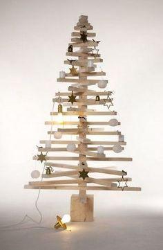 15 idées de sapins pour un Noël traditionnel et original ! | Habitatpresto.com