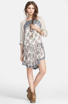 elsie lace detail dress / free people