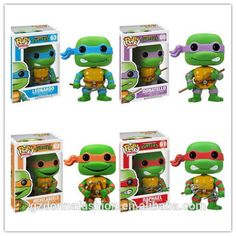 Promotion FUNKO POP 10cm Teenage Mutant Ninja Turtles 4 Pcs A Set #63 PVC Action Figure Collection Toy Doll, View Teenage Mutant Ninja Turtles, donnatoyfirm Product Details from Guangzhou Donna Fashion Accessory Co., Ltd. on Alibaba.com