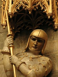 Detail of a fine alabaster statue of the Protector of the Realm, whose feast is today, 23 April, from St Peter's church in Nottingham. Courtly Love, Saint George And The Dragon, St Peter's Church, Patron Saints, Medieval, Religion, Sculptures, Merry, Museum