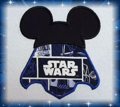 Disney Darth Vader Mickey Star Wars Shirt  Fun by MouseKouture1, $23.00